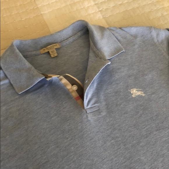 64c149cb2 Burberry Shirts | Brit Polo Shirt Men M Like New 175 | Poshmark